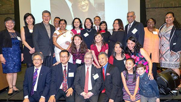AAC晚宴表揚傑出亞裔
