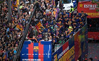 巴塞羅那提前四輪奪本賽季西甲冠軍獎盃