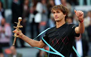 马德里网赛:兹维列夫夺冠 科维托娃封后