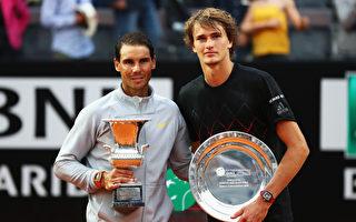 羅馬網賽 納達爾成八冠王 斯維托麗娜衛冕