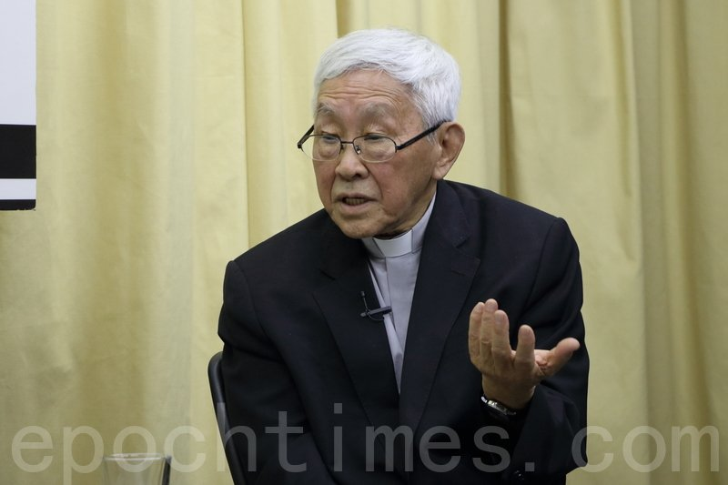 陳日君急見教宗 警告新文告恐滅中國天主教
