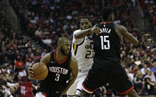 NBA西部半決賽 火箭淘汰爵士 會師勇士