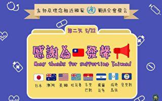 挺台灣參加WHA 美日澳等多國說了這些