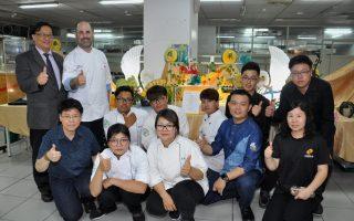 中州科大餐廚系畢業成果展  米其林主廚也說讚