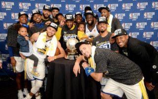 NBA勇士击落火箭 晋级总冠军赛