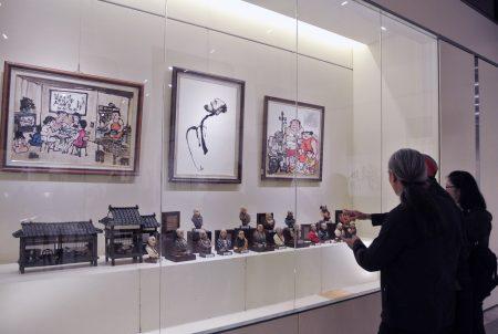 「藝術家聯盟交流協會」會員聯展,充分呈現基隆文化能量及美術水準喔!