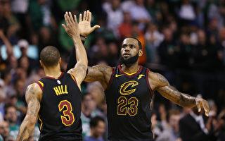 NBA詹皇燃烧小宇宙 骑士连4年挺进总冠军赛