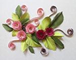 纸卷装饰花DIY