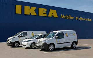 與雷諾合作 宜家法國推「顧客自助租車」服務