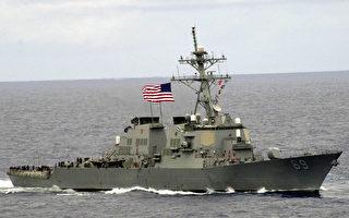 川金會前加強導彈防禦 美最先進軍艦抵日本