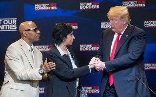 川普再訪紐約長島 遏制非法移民掃除黑幫