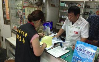 保障市民用藥安全  落實管制藥品管理
