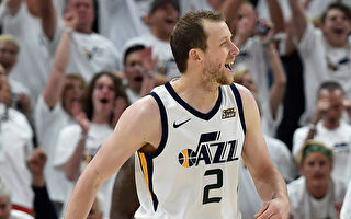 NBA爵士反噬火箭 系列赛扳平