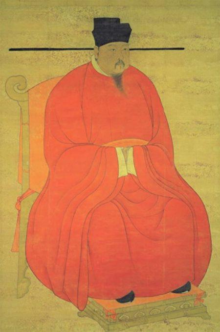 图为宋真宗坐像。台北国立故宫博物院藏。(公有领域)