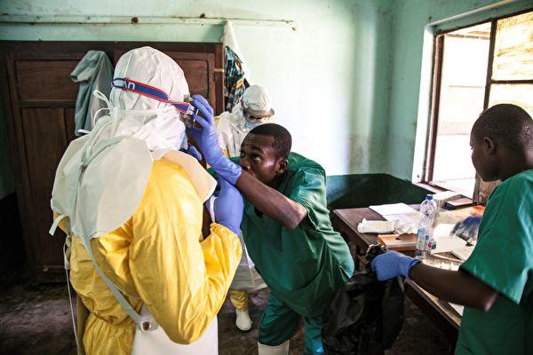 剛果埃博拉蔓延至大城市 風險級別「非常高」