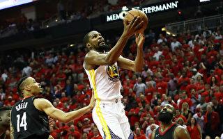 NBA西區冠軍戰 勇士隊客場1勝1負