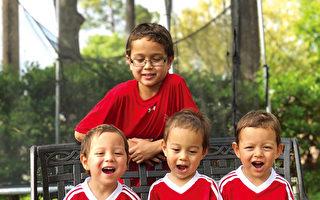 三胞胎寶寶 哮喘 感冒 發燒