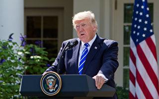 5月24日,美國總統川普宣布取消川金會。此前,川普多次暗示中共攪局川金會。他說,金正恩第二次訪華後事情就出現了變化。(Samira Bouaou/大紀元)