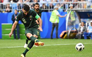 C组第二轮 丹麦1:1战平澳大利亚