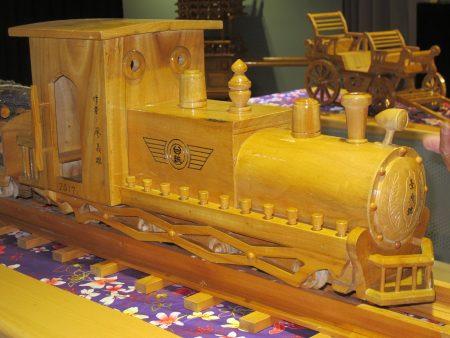 作品「 蒸汽火車」。