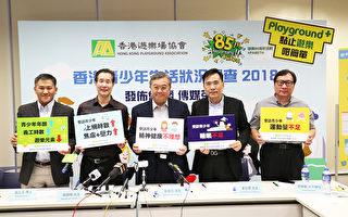 香港三成青少年抑郁焦虑 上网时间越长越严重