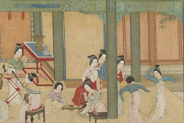 穿越两千年《汉宫春晓》重现后宫嫔妃生活(1)