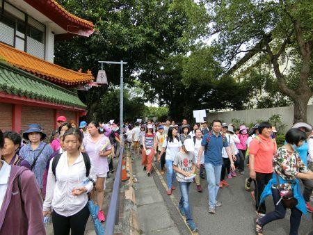 走过23珍爱健保 无烟健康逗阵走健走活动。