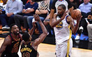 NBA騎士擋不住杜蘭特 瀕淘汰邊緣