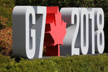2018年七大工業國G7峰會在加拿大落幕,美國總統川普推文說,美國不支持和批准G7聯合公告的內容。