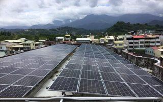 推動綠能 台中百校加入太陽能發電
