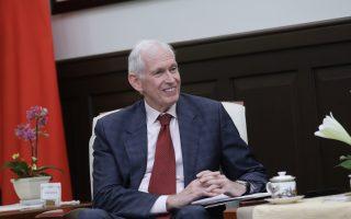 AIT主席:中共對台威脅增 美台強化國防合作