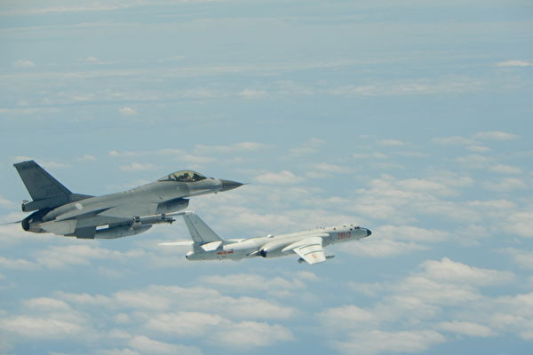 回应中共军机频骚扰 台战机加挂空对空导弹