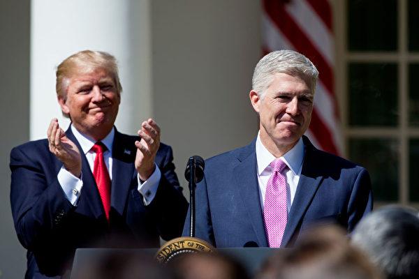 任命新大法官 川普有望在高院續推保守政策