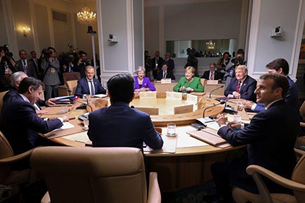 化解G7贸易摩擦 英首相促加大对中共施压