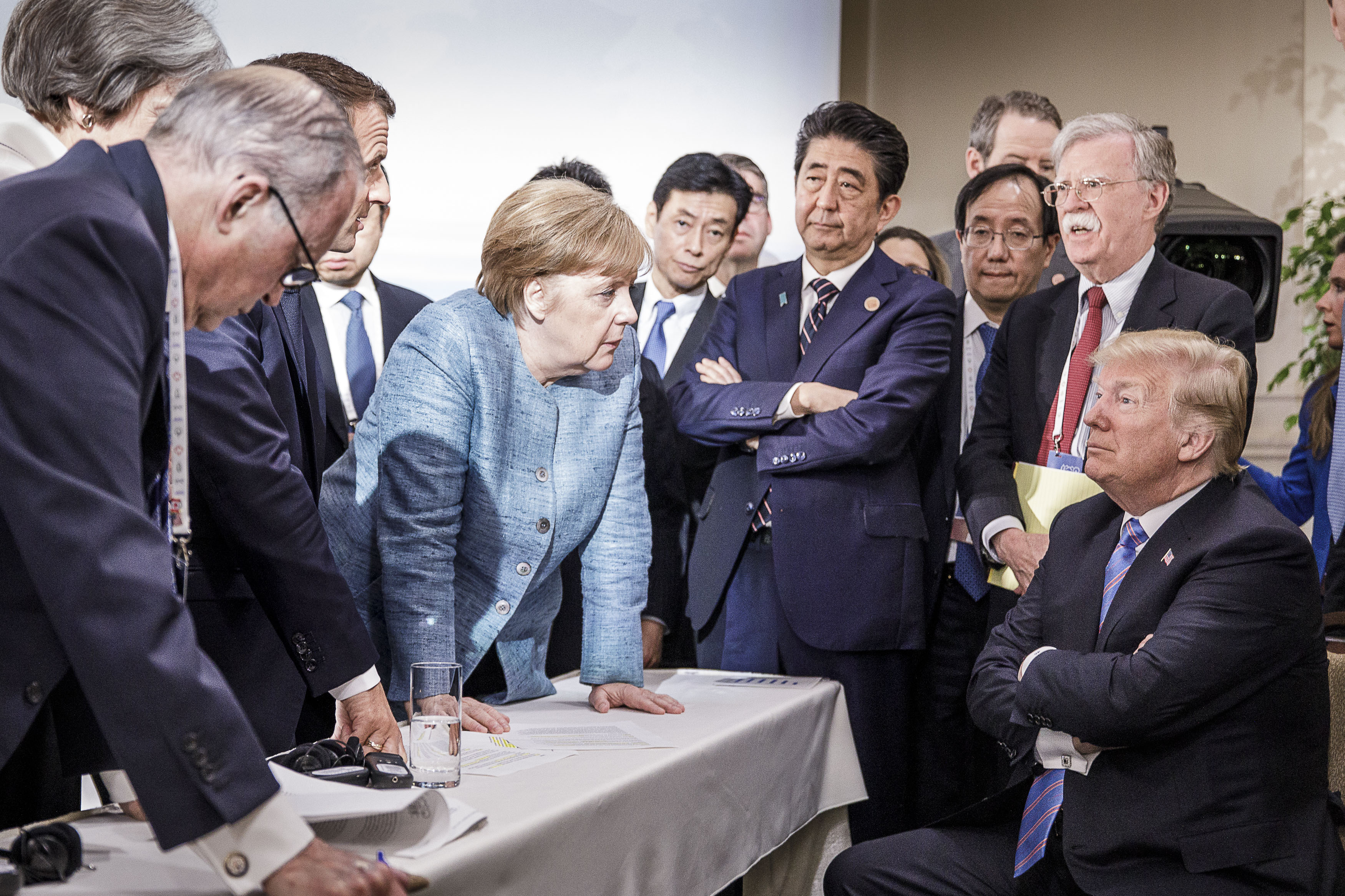 此前的G7峰會。(Jesco Denzel /Bundesregierung via Getty Images)