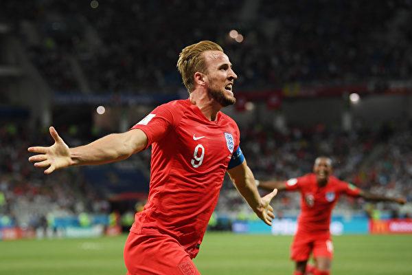 卡尼梅開二度獻絕殺 英格蘭2:1勝突尼西亞