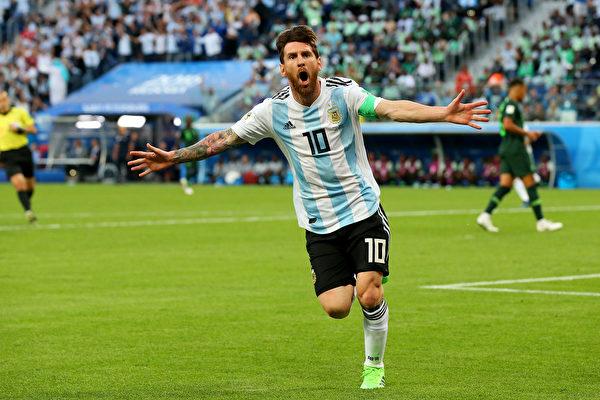D組末輪:2比1勝尼日利亞 阿根廷艱難出線