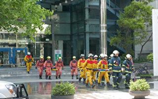台湾万安演习登场 首度模拟电信大楼遭飞弹攻击