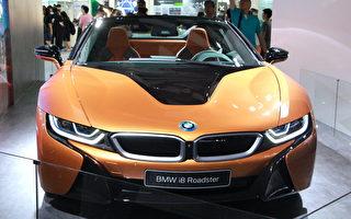 千萬敞篷跑車BMW i8 Roadster 現身台灣電腦展