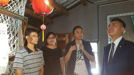 老屋具有65年历史,在56至64年间为全台湾第一间塑胶灯笼工厂,制造元宵灯笼。