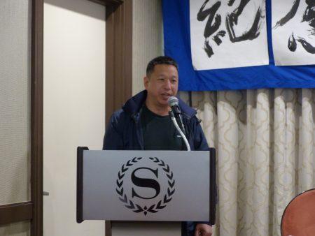 民运人士杨茂林发言。