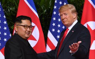 韩朝会谈 金正恩声称美朝对话或有更多进展