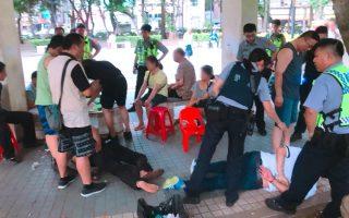 警察扮籃球客及清潔隊員   偵破公園職業賭場