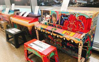 散播音樂種子 紐約街頭51鋼琴免費彈