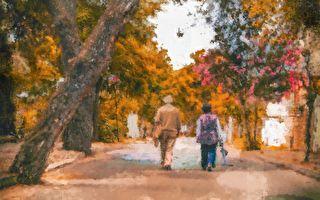 相守75年 夫妻牵手进入天国之门