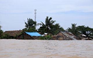 緬甸遭洪水侵襲 11人死12萬人疏散