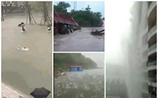 四川暴雨多座橋梁被淹 下水道無修整惹民怨