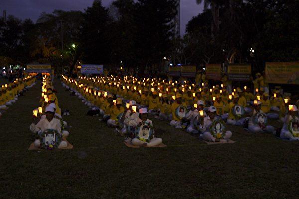 峇里岛法轮功7.20活动 吸引外国人士学炼