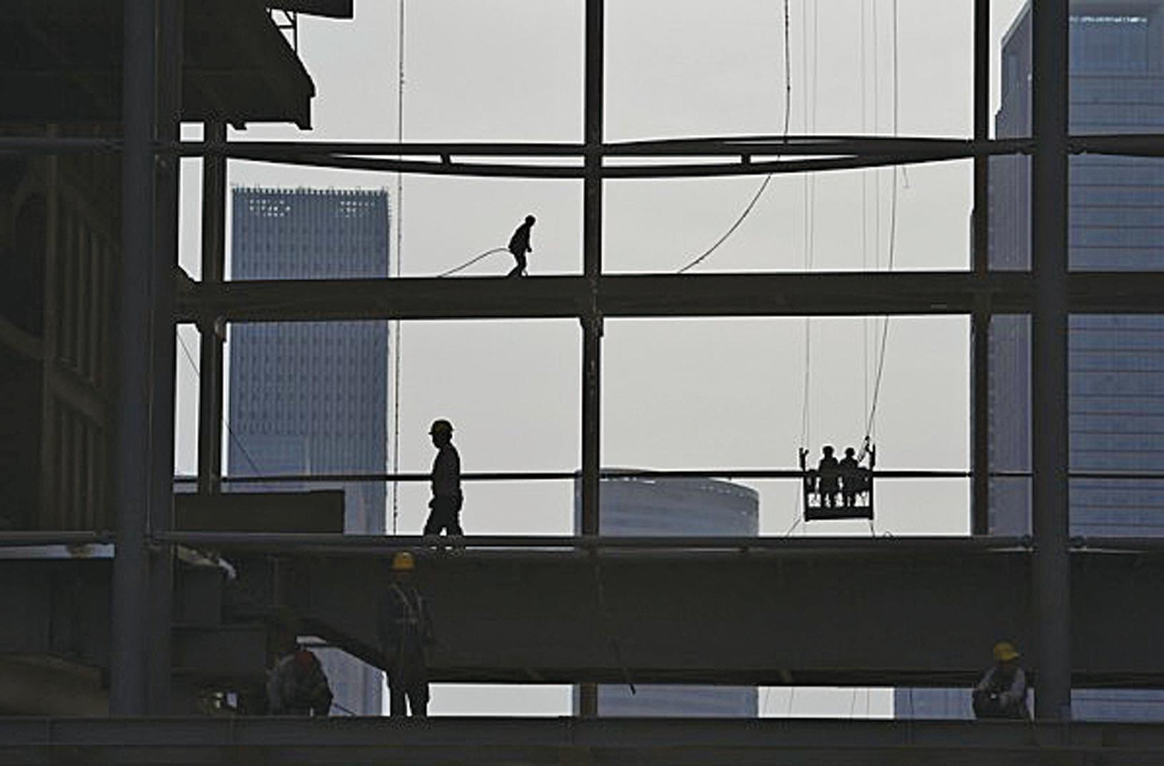 中國經濟出現風險。(Getty Images)