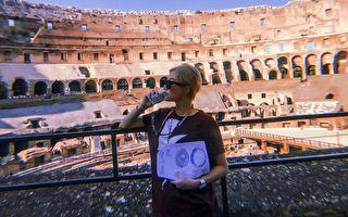 赴罗马表演放小假 A-Lin忙赏景 为美食破戒